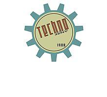 Techno since 1988 Photographic Print