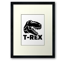 T-Rex Tyrannosaurus Rex Framed Print