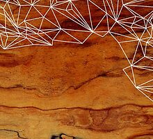 Wooden Wireframe by Jenny Mhairi