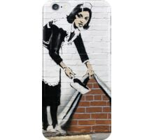 Banksy Maid iPhone Case/Skin