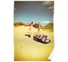Fun At The Beach Poster
