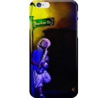 The Sax Player iPhone Case/Skin