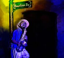 The Sax Player by kenmo