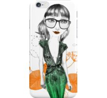 The Green Dress iPhone Case/Skin