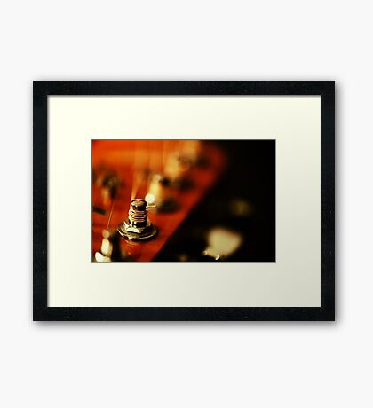 Strings and Things Framed Print