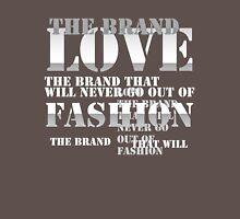 LOVE THE BRAND - WHITE Unisex T-Shirt