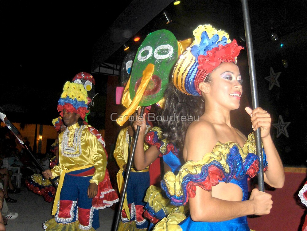Carnival Night in El Salvador by Carole Boudreau