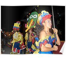 Carnival Night in El Salvador Poster