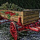 Yuletide Wagon by Patricia Montgomery