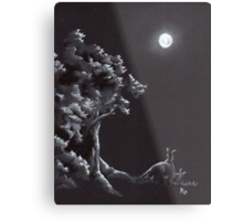 Night Creatures Metal Print