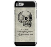 Hamlet - Shakespeare iPhone Case/Skin