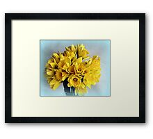 Mini Daffodil Delight Framed Print