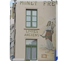 Mural, Bookshop, Brussels, Belgium iPad Case/Skin