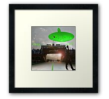 Interstellar Wagah Framed Print