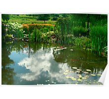Natures Garden & Reflections Poster