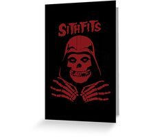 Misfits SITHFITS Crimson Ghost Greeting Card