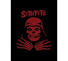 Misfits SITHFITS Crimson Ghost Photographic Print