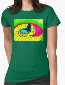 LITTLE TOTO THE DOG Womens Fitted T-Shirt