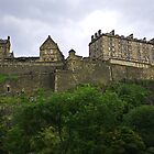 Edinburgh Castle III by Tom Gomez