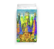 IN THE MERRY OLD LAND OF OZ: American Monument Nr. 8 Duvet Cover