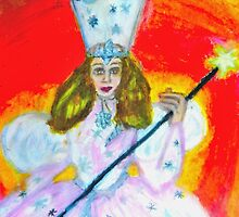 WIZARD OF OZ, GLENDA THE GOOD WITCH by JoAnnHayden