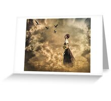 Walk in the Clouds Greeting Card