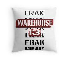 Frak Frak Frak Frak Frak Throw Pillow