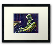 The Music Man. Framed Print