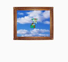 squidward in the hat box in the sky in the picture frame Unisex T-Shirt