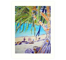 Noosa Beach  Art Print