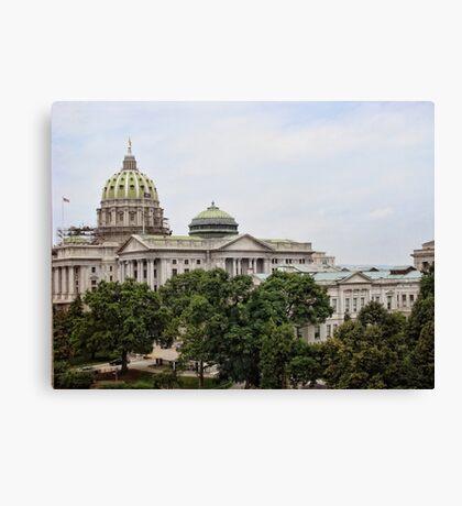 State capital Canvas Print