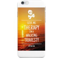 Therapy Case iPhone Case/Skin