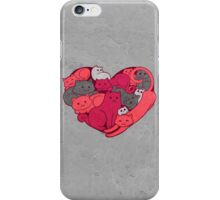 A Purrrrrfect Love iPhone Case/Skin