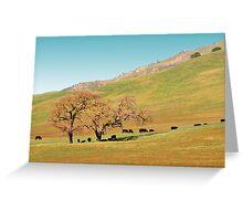 Golden California Greeting Card