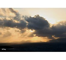 dingle skys Photographic Print