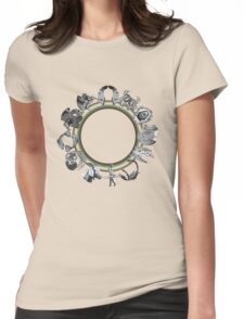 GOLD RING  Womens Fitted T-Shirt