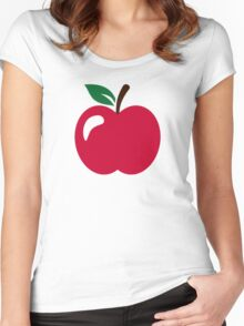 Red apple Women's Fitted Scoop T-Shirt