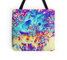 Flowers - Gold Tote Bag