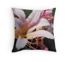 Wild and Crazy Lily Throw Pillow