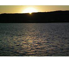 Lake Superior sunset Duluth! Photographic Print