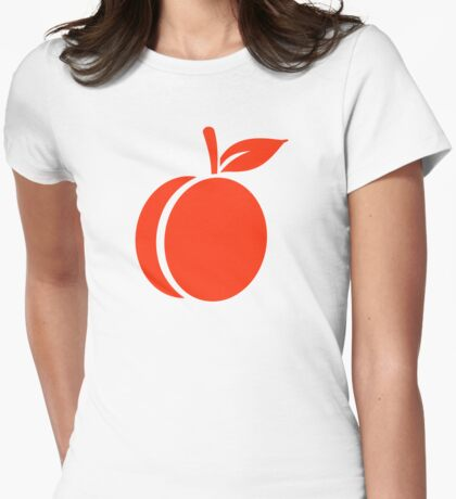 Apricot Womens Fitted T-Shirt
