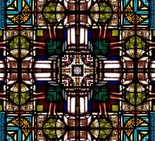 Stained glass 7 by Yampimon