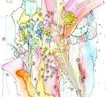 Daydream in a Regency Garden by wiccked
