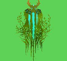 Nature's prophet ( back ) by Vhitostore