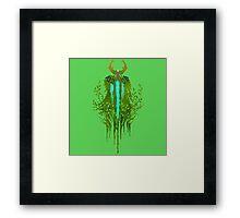Nature's prophet ( back ) Framed Print