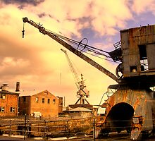 Rusted Memories - Cockatoo Island - The HDR Series by Philip Johnson