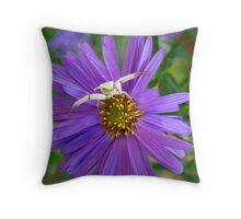 This is MY flower! Throw Pillow