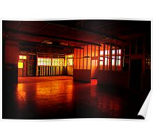 The Red Room - Cockatoo Island - The HDR Series Poster