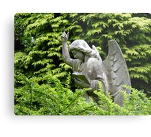 Don't blink, don't look away! Metal Print