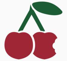 Red cherries bite by Designzz